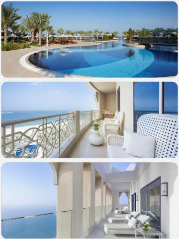 Luxusní resort v Ras al Khaimah ve Spojených arabských emirátech