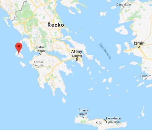 Kefalonie Mapa Turisticke Mapy Ostrova Ke Stazeni