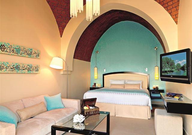 SAE zájezd luxusní hotelový pokoj