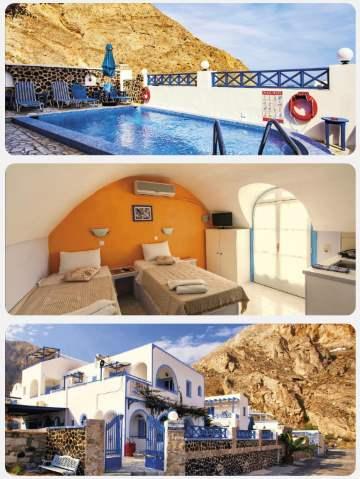 Stylový hotel na Santorini
