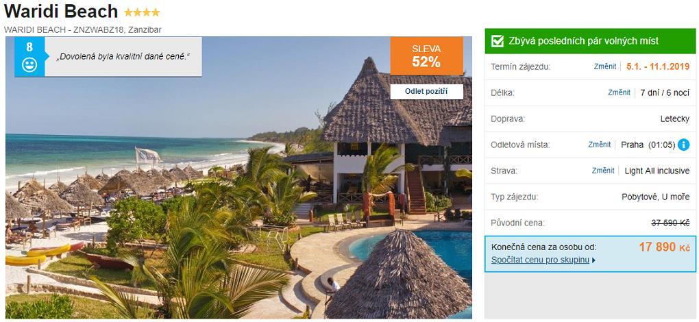 Zanzibar All Inclusive Super last minute