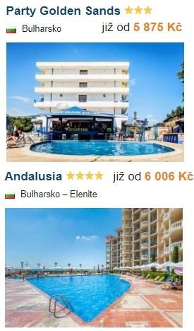 Akční zájezdy do Bulharska s All Inclusive odlet z Polska