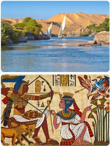 Egypt zájezd plavba po Nilu poznávací