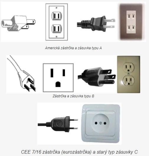 Elektrické zásuvky adaptér Thajsko