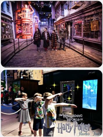 Harry potter poznávací zájezd Londýn Anglie