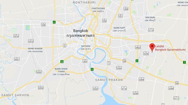 Letiště-Bangkok