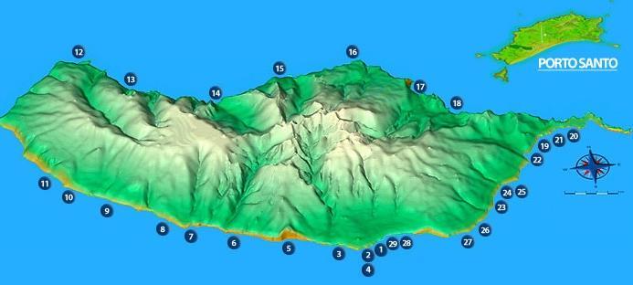 Nejlepší pláže na Madeiře