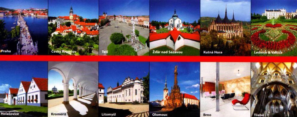 Památky UNESCO v ČR Česká republika