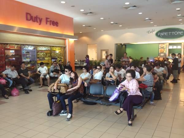 Terminál na letišti v Phuketu