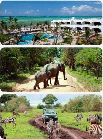 Afrika a Safari aneb zájezd Keňa super last moment
