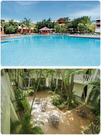 Dominikánská republika hotel Punta Cana v březnu dubnu