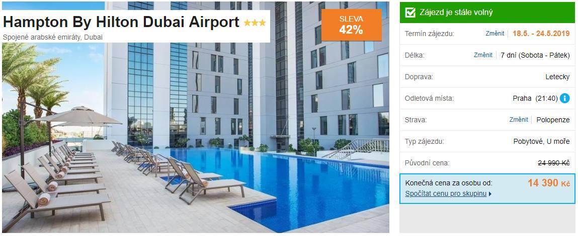 Dubaj Hilton letiště mega hit