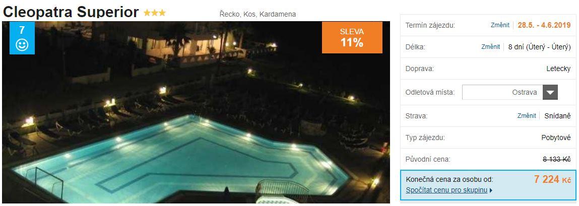 First minute zájezd řecko ostrov Kos