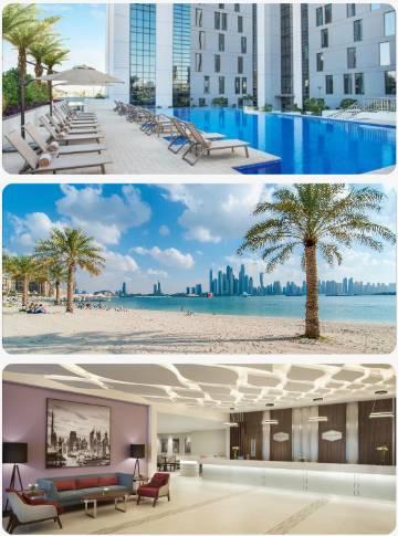 Hampton Hilton Dubaj mega hit akční zájezd do Dubaje