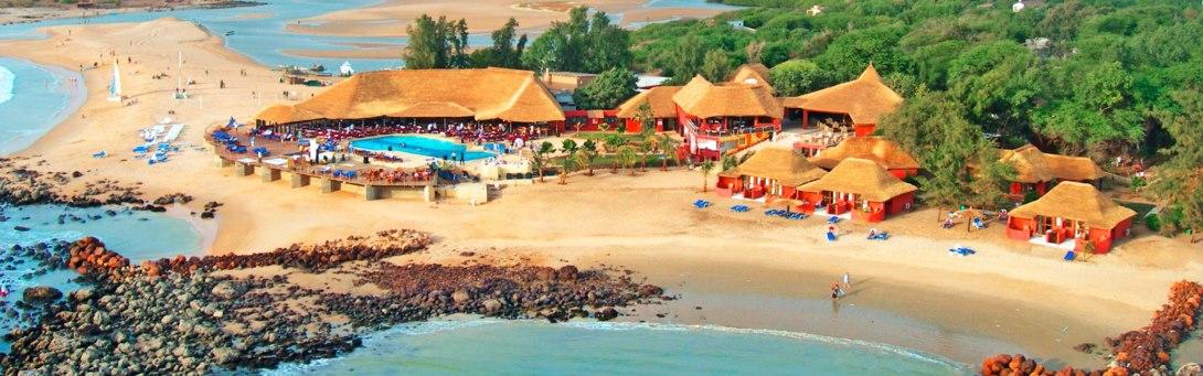 Hotelový komplex Royal Horizons ve východní Africe v Senegalu