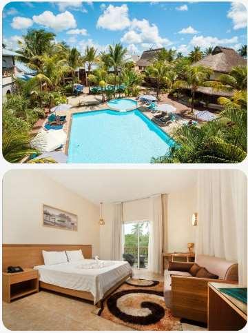 Mauricius La palmisite skvělý hotel