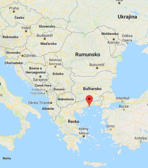 Poloha Thassosu aneb kde leží na mapě Řecka