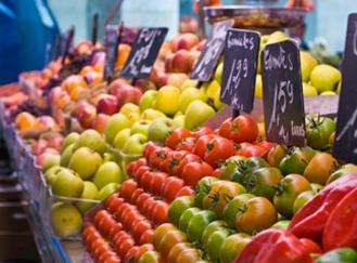 Ceny ovoce a zeleniny v Maroku