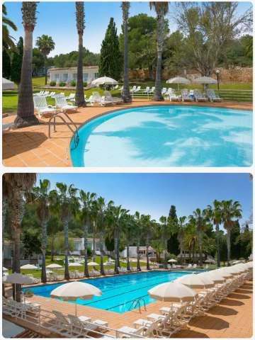 Krásný hotel s bazénem na Mallorce All Inclusive