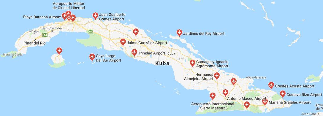 Letiště-na-Kubě