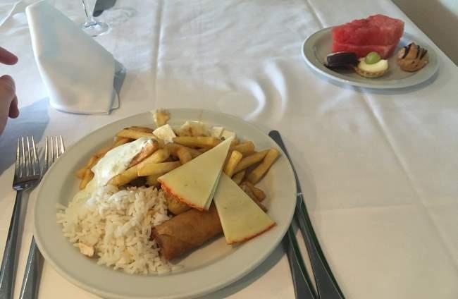 Naše All Inclusive večeře na hotelu R2 Pajara Beach na Fuerteventuře