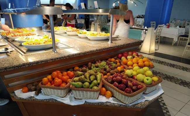 Ovoce na All Inclusive zájezdu na Kanárských ostrovech