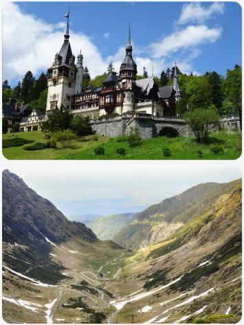 Rumunsko poznávací akční zájezd Transylvánie