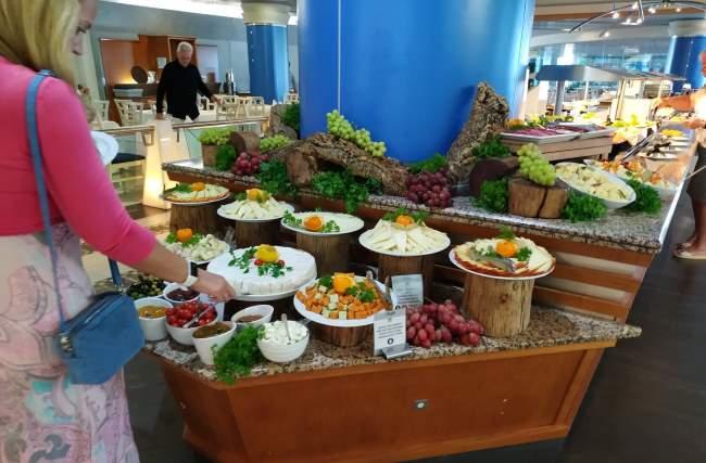 Velký výběr sýrů na All Inclusive dovolené na ostrově Fuerteventura
