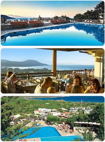 Řecko akční zájezd s panoramatickým bazénem