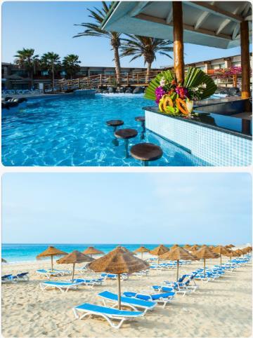 Hotel Belorizonte na Kapverdských ostrovech s bazénem v květnu