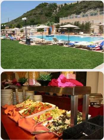 Hotel Diagoras na Rhodosu Faliraki