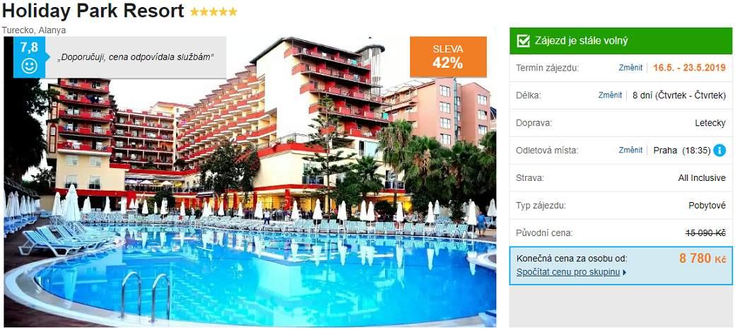Luxusní ubytování v turecké Alanyi
