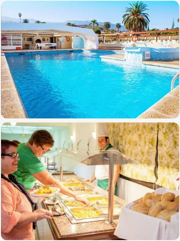 Tenerife skvělý hotel s All Inclusive v březnu