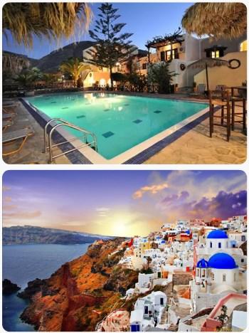 Akční last minute zájezd na Santorini