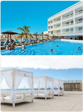 Kanárské ostrovy u hotelu a bazén