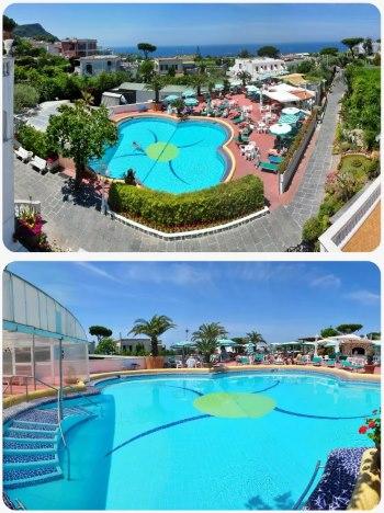 Ubytování v hotelu na ostrově Ischia v Itálii