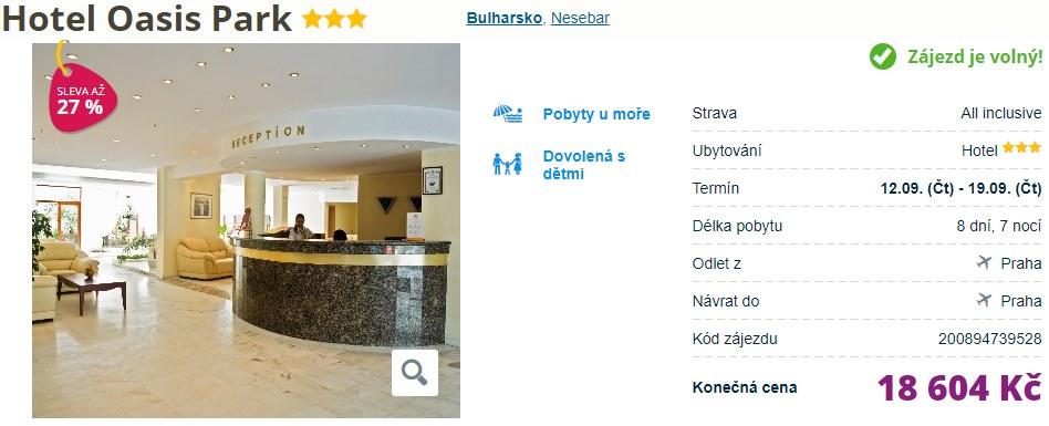 Bulharsko s All Inclusive dovolená