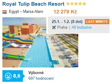 Nejlepší hotely Marsa Alam recenze