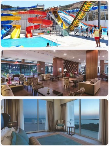 Perfektní hotel s tobogánem a aquaparkem