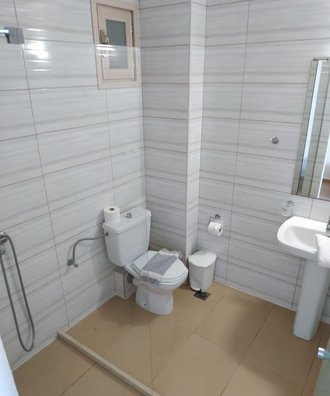 Naše koupelna v pokoji na hotelu Atali Grand Resort
