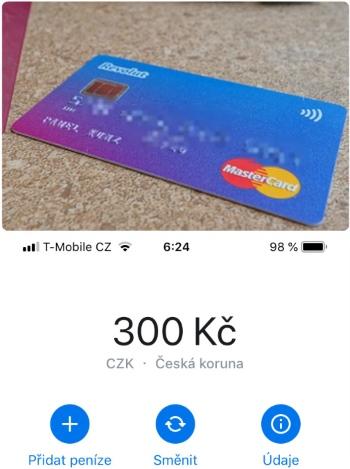 Platební karta revolut s bonusem 300 kč