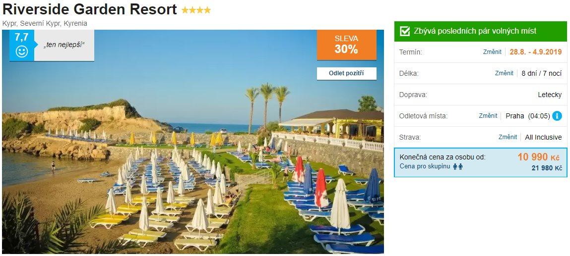 Super last minute na Severní Kypr