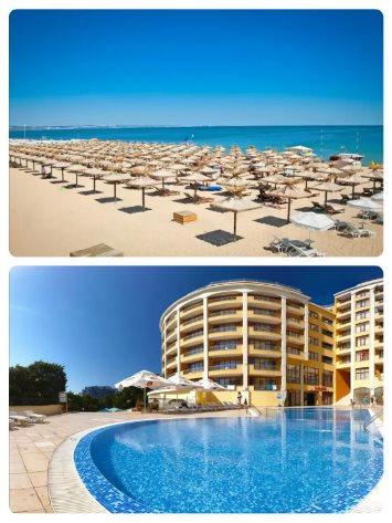 All Inclusive hotel u pobřeží na Zlatých Píscích v Bulharsku