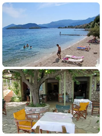 Hotel ihned u moře v Řecku na Lefkadě