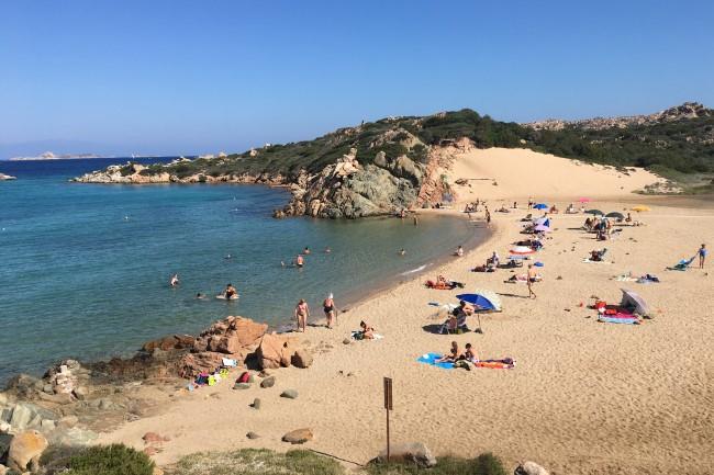 Nejkrásnější pláž na ostrově La Maddalena