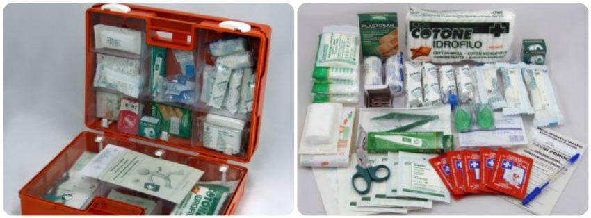 Cestovní lékárnička obsah a seznam věcí v ní
