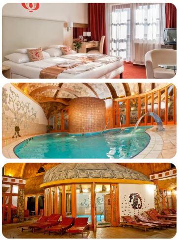 Hotel Piroska lázně Bukfurdo termální lázně Maďarsko