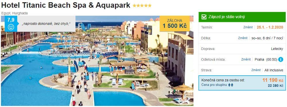 Luxusní pětihvězdičkový hotel v Hurghadě
