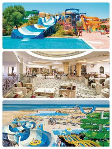 Pětihvězdičkový resort v Hurghadě v Egyptě nejlevnější s jídlem a pitím