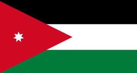 Vlajka Jordánsko